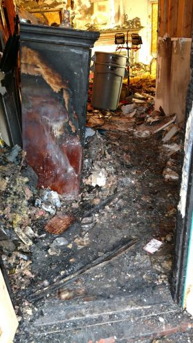 Fire damage repair by Michigan Fire & Flood Inc